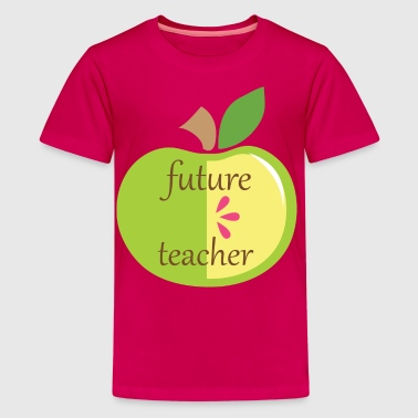 Future Teacher Apple - Kids' Premium T-Shirt