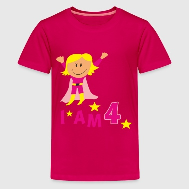 birthday 4 - Kids' Premium T-Shirt