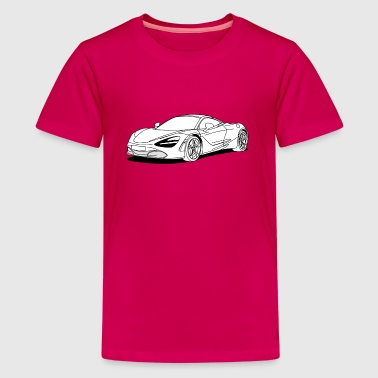 720s Coupe filled in - Kids' Premium T-Shirt