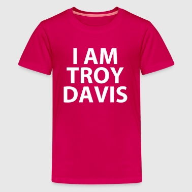 i am troy davis (RIP...) - Kids' Premium T-Shirt