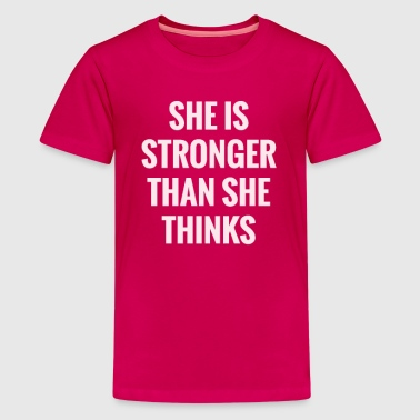 Love My Cousin She Is Stronger Than She Thinks - Kids' Premium T-Shirt