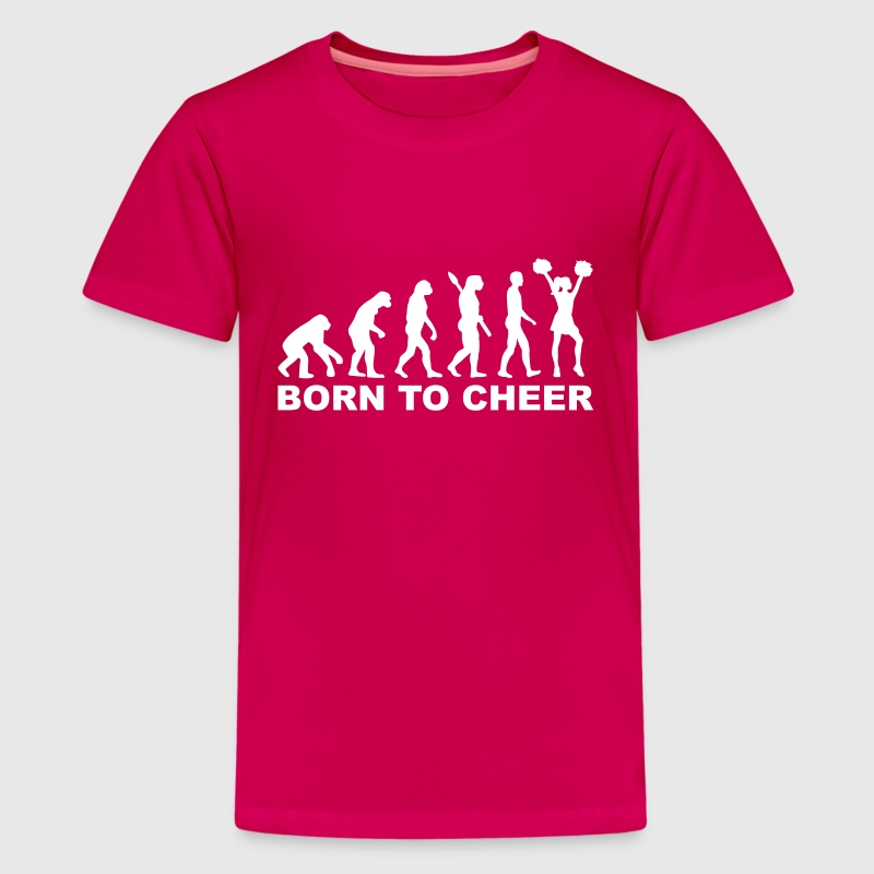 Evolution Cheerleading - Kids' Premium T-Shirt