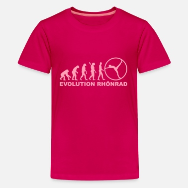 Gymwheel Evolution Rhönrad - Kids' Premium T-Shirt