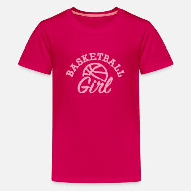 Girls Basketball Basketball - Kids' Premium T-Shirt