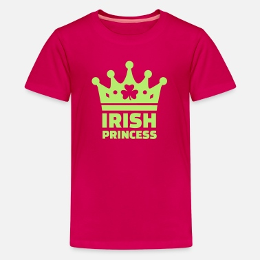 St Patricks Day Irish Princess - Kids' Premium T-Shirt