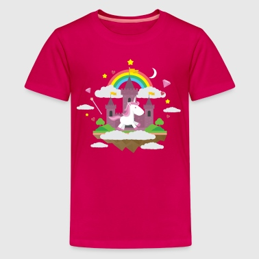 Rainbow Unicorn - Kids' Premium T-Shirt