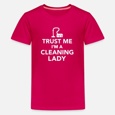 Broom Cleaning Lady Cleaning lady - Kids' Premium T-Shirt
