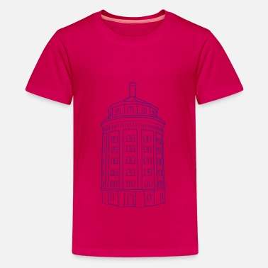 Prenzlauer Berg Water tower Berlin - Kids' Premium T-Shirt