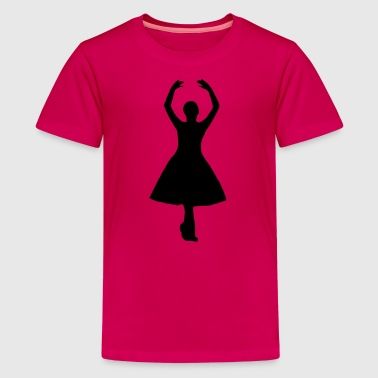 dancer4 - Kids' Premium T-Shirt