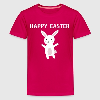 Happy Easter cute Bunny - Kids' Premium T-Shirt