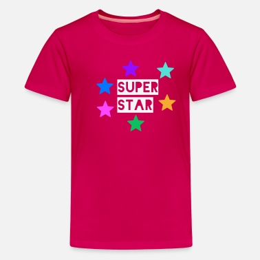 Super Star Superstar Kids Superstar T-Shirt  -- Super star - Kids' Premium T-Shirt