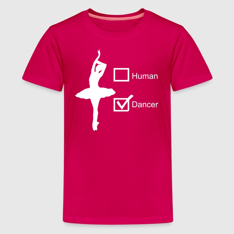 HUMAN or DANCER - Kids' Premium T-Shirt