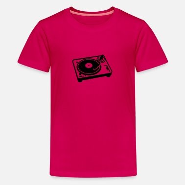 Turntablism Turntable - Kids' Premium T-Shirt