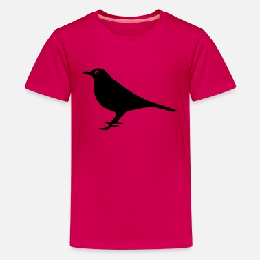 Blackbird Bird Blackbird - Kids' Premium T-Shirt