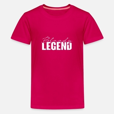 Legend Bloody Legends logo - Kids' Premium T-Shirt