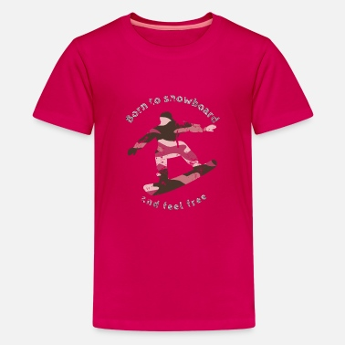 Pink army style - Kids' Premium T-Shirt