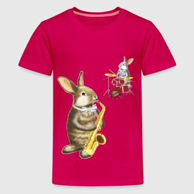 rabbit band - Kids' Premium T-Shirt
