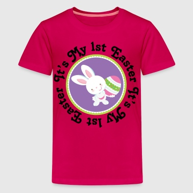 1st Easter Bunny Rabbit - Kids' Premium T-Shirt