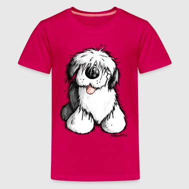 Old English Sheepdog - Kids' Premium T-Shirt