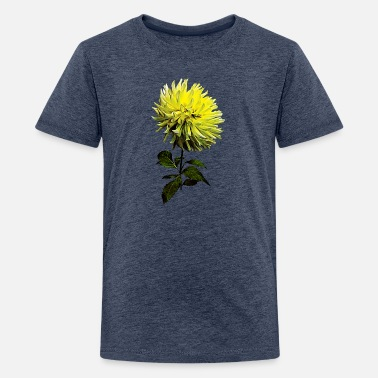 Name Meaning One Yellow Dahlia - Kids' Premium T-Shirt