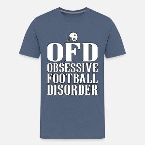 e610aefb20 Obsessive Football Disorder Funny T shirt Present for Men Kids' T ...