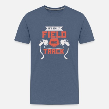 Long Jump Funny Its Really Field And Track Shirt & Gift - Kids' Premium T-Shirt