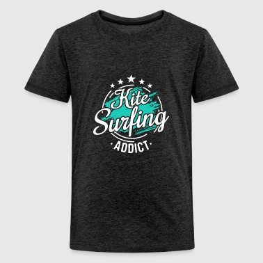 Kitesurfer Kiteboarder Cool Funny Sayings Tee Gift - Kids' Premium T-Shirt