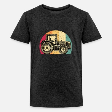 Apprentice Tractor Farmer Rancher Job Farm Farming Gift Idea - Kids' Premium T-Shirt