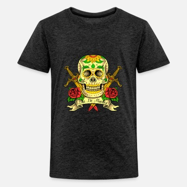 Dead Skull Tattoo Pirate - Kids' Premium T-Shirt