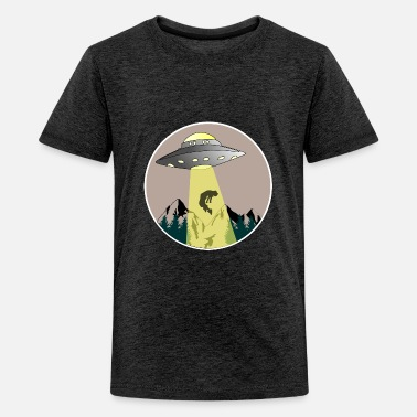 Hijacker Alien Extraterrestrial Abduction hijack gift myth - Kids' Premium T-Shirt