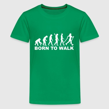 Nordic Walking - Kids' Premium T-Shirt