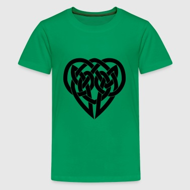 Celtic Knot Heart - Kids' Premium T-Shirt