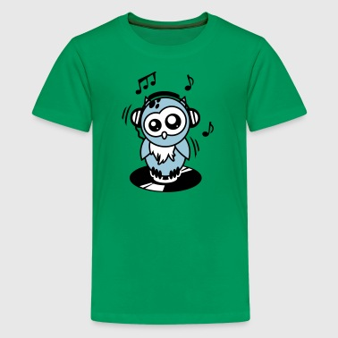 Owl Willis available clothing: DJ equipment - Kids' Premium T-Shirt