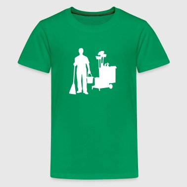 Cleaning - Kids' Premium T-Shirt