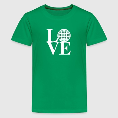 Golf love art - Kids' Premium T-Shirt