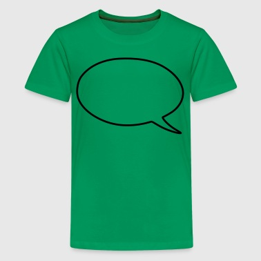 speech bubble - Kids' Premium T-Shirt