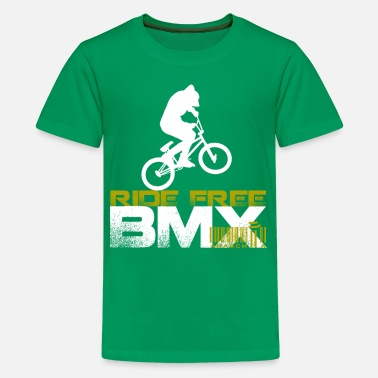 Bmx BMX - Ride Free - Kids' Premium T-Shirt