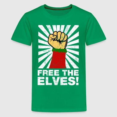 Elf Free The Elves - Kids' Premium T-Shirt