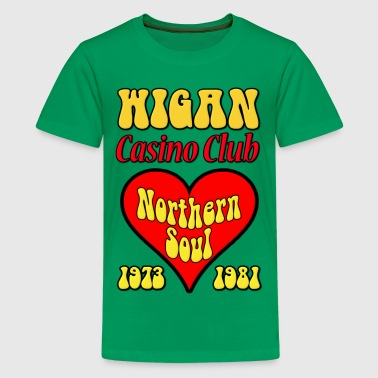 Northern Soul Wigan Casino Club - Kids' Premium T-Shirt