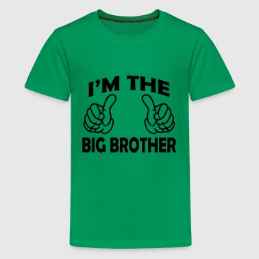 I Am Going To Be A Big Brother i am the big brother - Kids' Premium T-Shirt