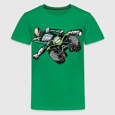 ATV Freestyle Quad Green - Kids' Premium T-Shirt