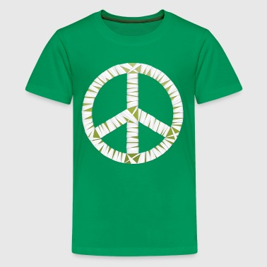 Mummy Peace Sign - Kids' Premium T-Shirt