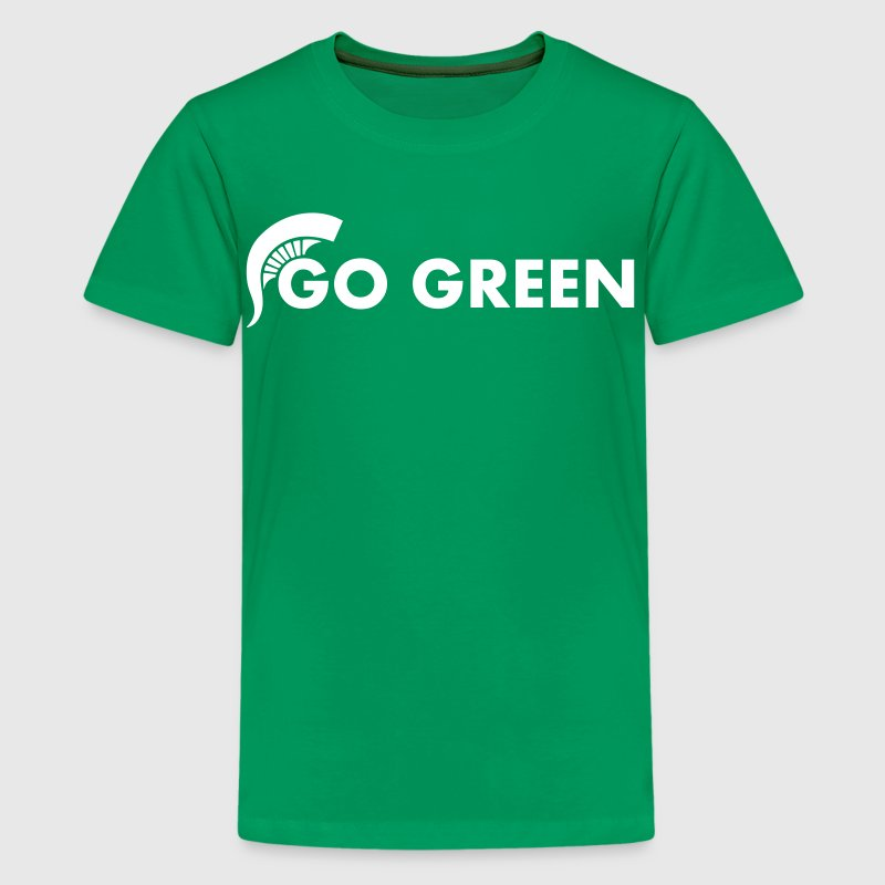 Go Green - Kids' Premium T-Shirt