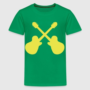 Guitars - Kids' Premium T-Shirt