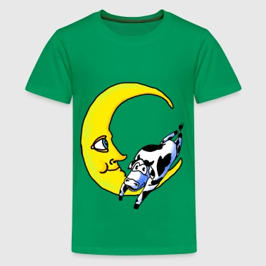 cow jumped over the moon - Kids' Premium T-Shirt