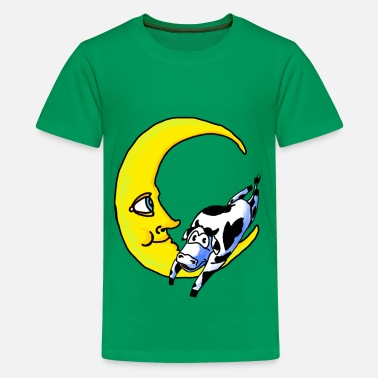 The Cow Jumped Over Moon cow jumped over the moon - Kids' Premium T-Shirt