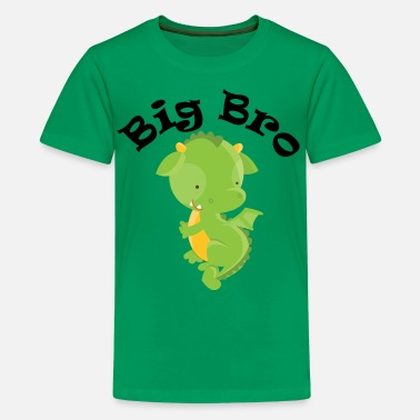 Big Bro Big Bro Dragon - Kids' Premium T-Shirt