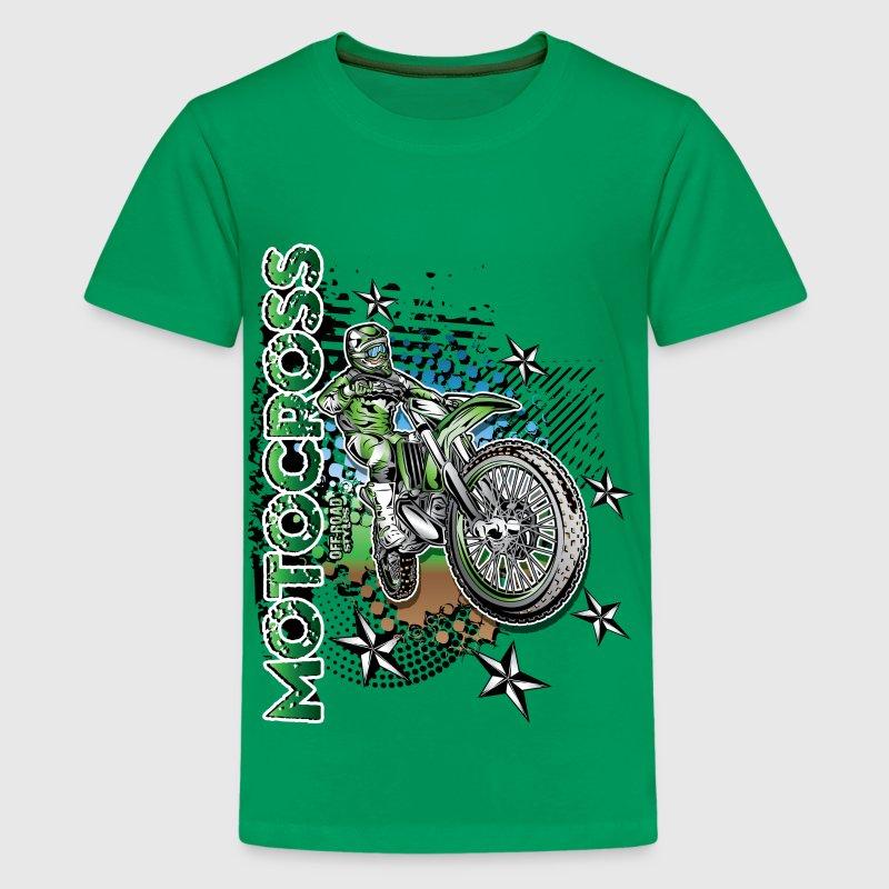Kawasaki Dirt Bike Shirt by wbgraphix | Spreadshirt