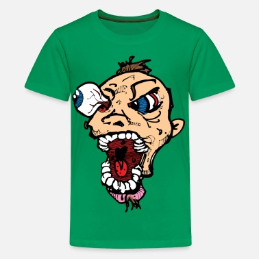 Crazy Eyes Eye Poppin Crazy Guy - Kids' Premium T-Shirt