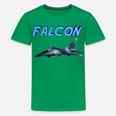 F-16 F-16 Fighting Falcon - Kids' Premium T-Shirt